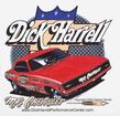 DICK HARRELL CLING WINDOW DECAL