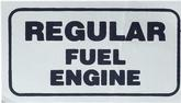70 Pontiac Fuel Decal