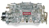 EDELBROCK SQUARE BORE 600 CFM PERFORMER SERIES 50 STATE CARBURETOR  WITH  ELECTRIC  CHOKE