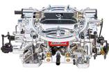 Edelbrock 650 CFM Thunder Series Avs Non EGR Carburetor With Manual Choke And Endurashine Finish
