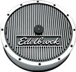 EDELBROCK ELITE SERIES 14 AIR CLEANER WITH LOGO AND 3 ELEMENT