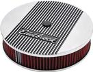 "Edelbrock Elite II Series Stock Height Flange 14"" Air Cleaner With Logo And 3"" Element"