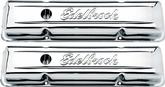 1959-86 CHEVROLET SMALL BLOCK CHROME SIGNATURE SERIES LOW PROFILE VALVE COVERS