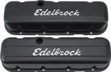 1967-90 Chevrolet Big Block Black Edelbrock Signature Series Tall Profile Valve Covers