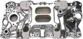 Edelbrock Performer RPM Intake Manifold 55-86 Small Block, Polished Finish, Without EGR