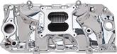 1965-90 Chevrolet Big Block Oval Port Performer RPM Endurashine Finish Square Bore Intake Manifold