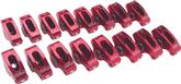 SMALL BLOCK EDELBROCK RED ROLLER ROCKER ARMS- 1.5 RATIO FOR 3/8 STUD