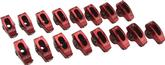 BIG BLOCK EDELBROCK RED ROLLER ROCKER ARMS- 7/16, 1.7 RATIO