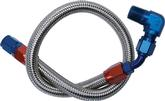Edelbrock Fuel Line Kit - Braided Stainless Steel