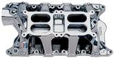 Edelbrock RPM Air Gap Dual-Quad 1500-6500 RPM Intake Manifold with EnduraShine Finish