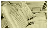 68 Firebird Standard Full Upholstery Set With Fixed Rear Seat - Ivy Gold