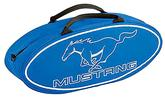 Blue Mustang Oval Shaped Canvas Bag