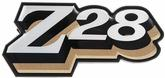 1978 CAMARO Z28 REAR PANEL EMBLEM - LIGHT GOLD