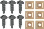 1982-92 Rear Hatch Screw And Nut Set Gray