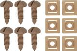 1982-92 Rear Hatch Screw And Nut Set Light Saddle