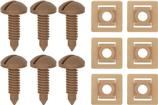 1982-92 Rear Hatch Screw And Nut Set Beechwood