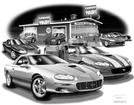 "Thom SanSoucie ""Flash Back Prints"" 11"" X 17"" 2002 Camaro ZL1 Print"