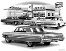 "1964 Impala Hardtop ""Flash Back print"""