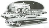 "1963 Impala Hardtop ""Flash Back print"""