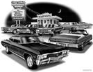 "1965 And 1967 Impala SS ""Flash Back print"""