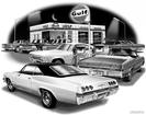"1965 Impala Hardtop ""Flash Back print"""
