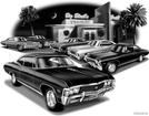 "1967 SS 427 Impala ""Flash Back print"""