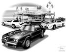 1977 TRANS AM PRINT (FEATURES 1977 TRANS AM)