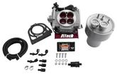 FiTech Go Street Self Tuning Fuel Injection 400HP Cast Finish EFI Master Kit w/ Fuel Command Center