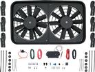 UNIVERSAL 15-1/2 x 26-3/4 x 2-5/8  DUAL FAN PULL STYLE  ELECTRIC FAN