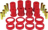 1979-93 Mustang Prothane Rear Control Arm Bushings Without Shells With Round Bushings - Red