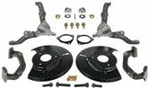 1965-73 Mustang Granada Spindle Mini Disc Kit