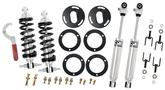1960-71Ford Coilover Kit, Small Block, Single Adjustable Bolt-on, front and rear.