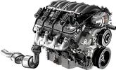 Chevrolet Performance E-Rod 6.2L LS3 All Aluminum Engine 430HP For Use with Automatic Transmission