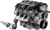 Chevrolet Performance E-Rod 6.2L LS3 All Aluminum Engine 430HP For Use with Manual Transmission