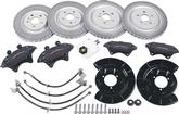 2010-15 CAMARO V6 - SS CONVERSION BRAKE SET - FRONT & REAR