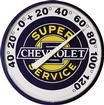 "12"" Super Chevrolet Service Thermometer"