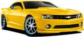2010-13 Camaro V6 Base and LT  Duraflex 7 Piece GM X-Body Kit