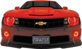 2010-13 Camaro Red Fog Lamp Halo Set