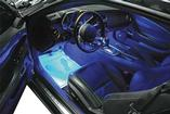 2010-13 Camaro - Ccfl Footwell Lighting Strips - Blue