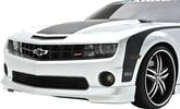 2010-13 CAMARO V8 3DCARBON GT FRONT AIR DAM - SUMMIT WHITE