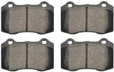 2010-12 Camaro SS Hawk Performance Ceramic Rear Brake Pads