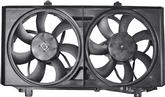 2010-11 Camaro Replacement 3.6L/6.2L Radiator And Condenser Fan Assembly