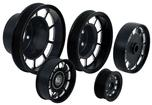 1986-87 Grand National Anodized Black Aluminum 5 Piece Pulley Set
