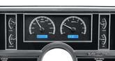 1984-87 Buick Regal - Dakota Digital VHX Gauge System Blue Display with Black Alloy Face