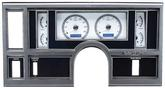 1984-87 Buick Regal  Dakota Digital VHX Gauge System - Blue Display with Silver/Grey Alloy Face