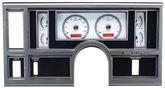 1984-87 Buick Regal  Dakota Digital VHX Gauge System - Red Display with Silver/Grey Alloy Face