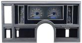 1984-87 Buick Regal - Dakota Digital VHX Gauge System - Blue Display with Carbon Fiber Face
