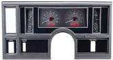1984-87 Buick Regal - Dakota Digital VHX Gauge System - Red Display with Carbon Fiber Face