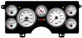 1982-87 Buick Regal NVU Performance Series White Mechanical Gauge System (MPH)