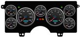 1982-87 Buick Regal NVU Performance II Series Black / Blue Digital Gauge System (KPH)